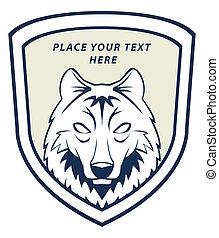 wolf, emblem