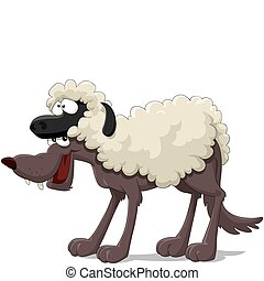 Wolf in the sheep skin