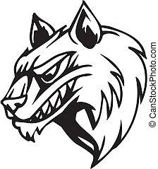 Wolf - Halloween Set - vector illustration - Vinyl-ready...