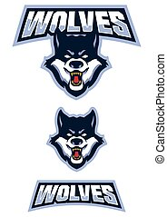 Wolf Mascot Symbol