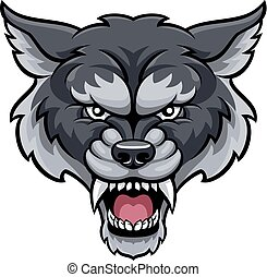 Wolf Sports Mascot