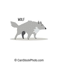 Wolf Vector Illustration