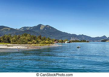 Wolfgangsee lake, Austria