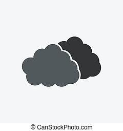 wolk, pictogram