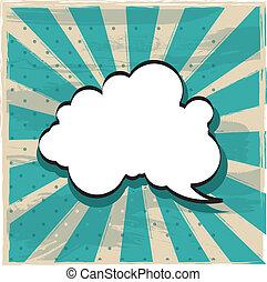 wolk, van, gedachte
