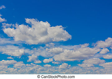 wolke, hintergrund, in, der, himmelsgewölbe