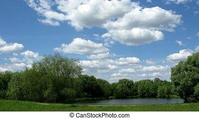 wolke, landschaftsbild