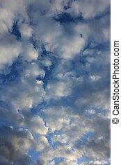 wolkengebilde, ruhig
