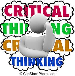wolkenhimmel, denken, system, denkprozeß, denker, kritisch