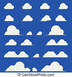 wolkenhimmel, design, elegant, wohnung, kumulus
