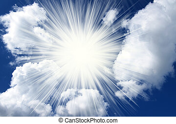 wolkenhimmel, geistig, himmelsgewölbe