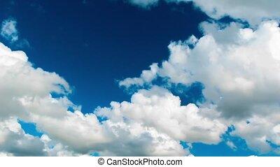 wolkenhimmel, himmelsgewölbe