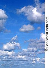 wolkenhimmel, senkrecht