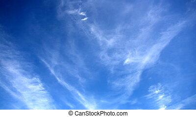 wolkenhimmel, zeit- versehen