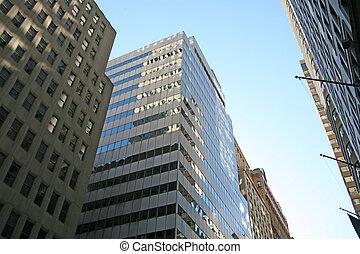 Wolkenkratzer, neu,  Manhattan,  york