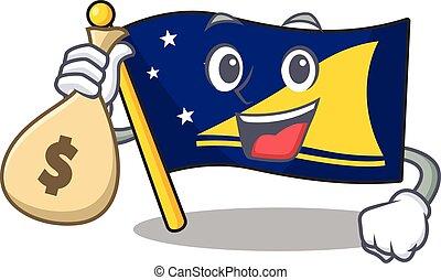 woluta, litera, rysunek, smiley, tokelau, torba, bandera,...