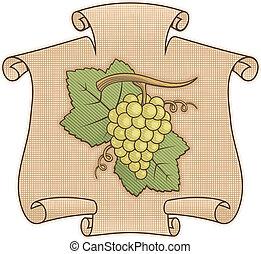 woluta, winogrona