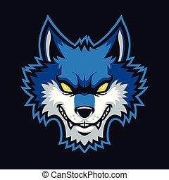 Wolves sign and symbol logo vector