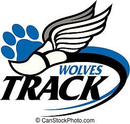 wolves track
