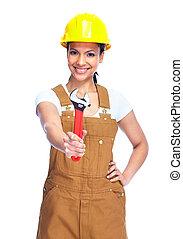 woman., εργάτης
