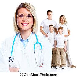 woman., רופא של משפחה