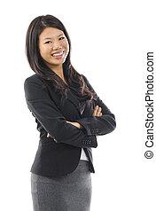 woman., アジア人