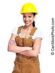 woman., 労働者