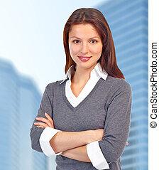 woman., 経営者, ビジネス