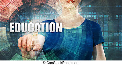 Woman Accessing Education