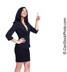 woman., affär