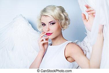 woman angel