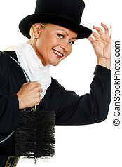 chimney sweep - woman as a chimney sweep. lucky charms new ...
