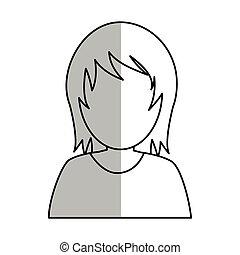 woman avatar icon