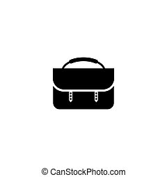 Woman Bag Flat Vector Icon