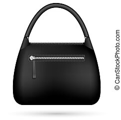 Woman bag isolated on white