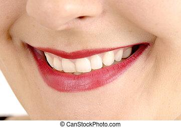 Woman Beautiful Smile