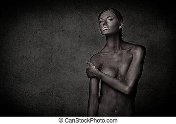 woman bodypaint