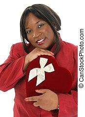 Woman Box Chocolate