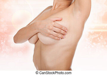 woman breast