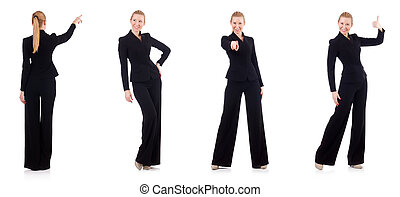 Woman businesswoman in business concept