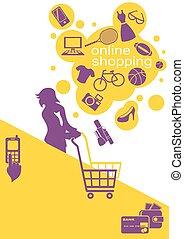Woman Buys Goods