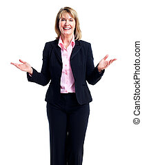 woman., cadre, business