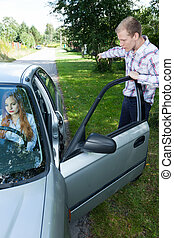Woman cannot driving car