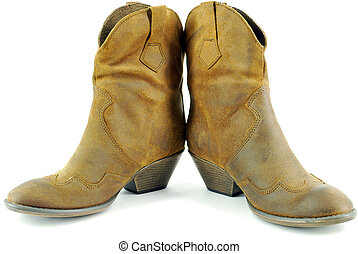 ff2f1113369 woman cowboy boots. woman brown leather cowboy boots. Fancy Western Boots
