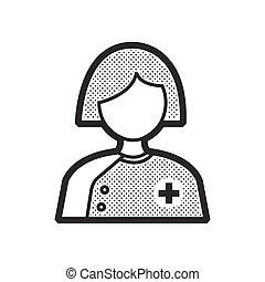 woman doctor avatar