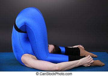 Knee ear position