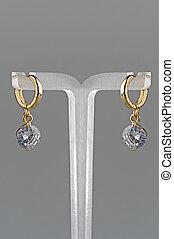 Woman earrings