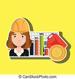 woman economy money
