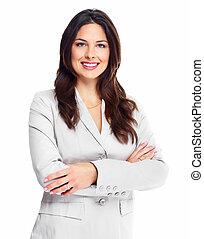 woman., empresa / negocio