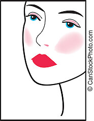 woman face 15